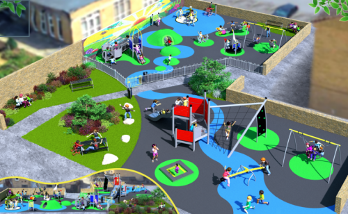 Millfields play area 2