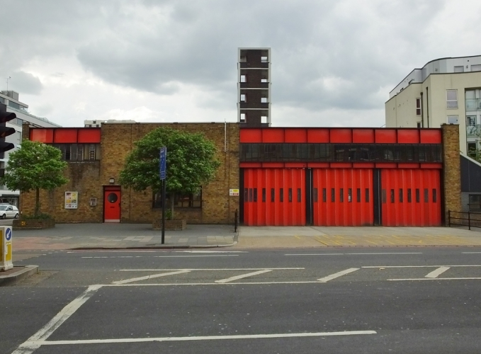 Kingsland Road Fire Station by kenjonbro on Flickr (CC BY-NC-SA 2.0)