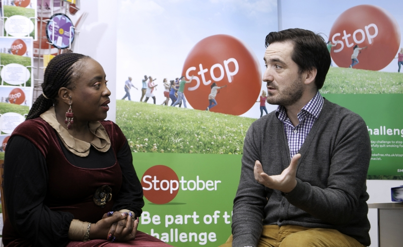 BOSEDE KUMUYI talks to Cllr Jonathan McShane about stopping smoking