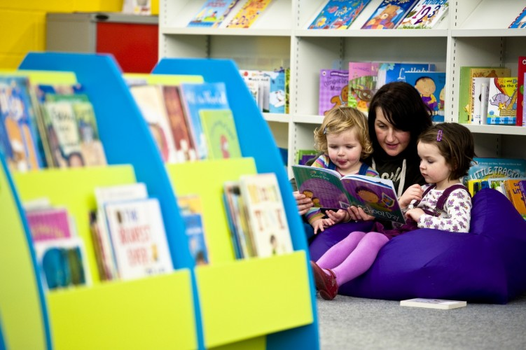 children and families can enjoy reading together at Hackney libraries