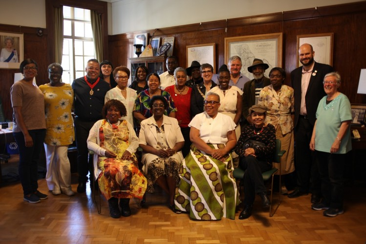 Deputy Mayor Bramble held a Windrush Day event for elders in the community on 22 JUne