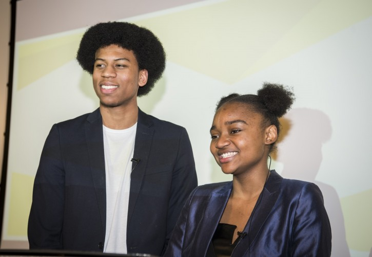 Kamani and Rose new Young Speakers of Hackney