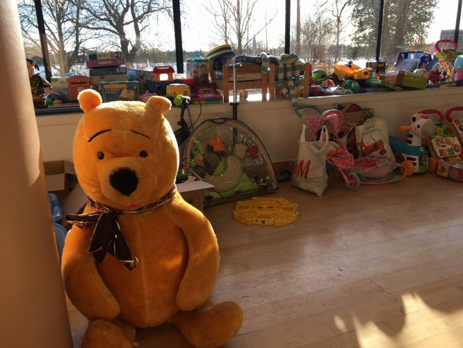 Toys donated to Hackneys RePresent