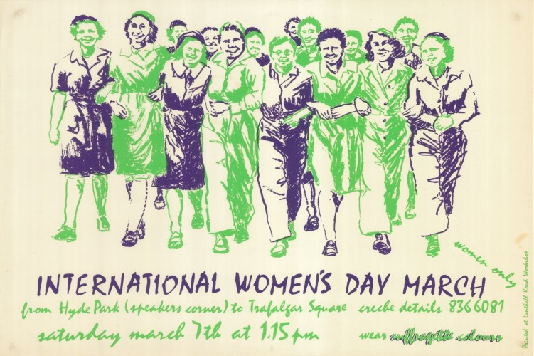 Womens Day Parade Copyright Lenthall Road Workshop