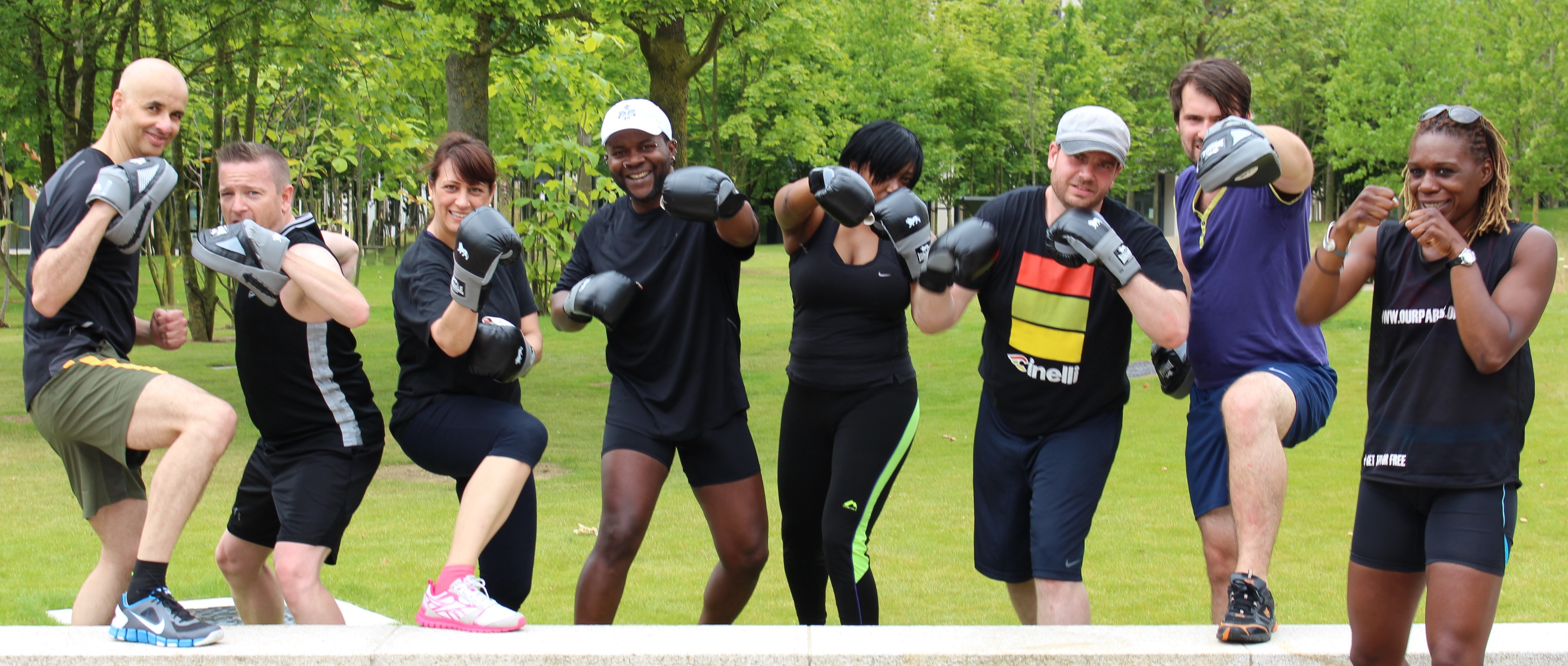 Free Fitness in Hackney Parks