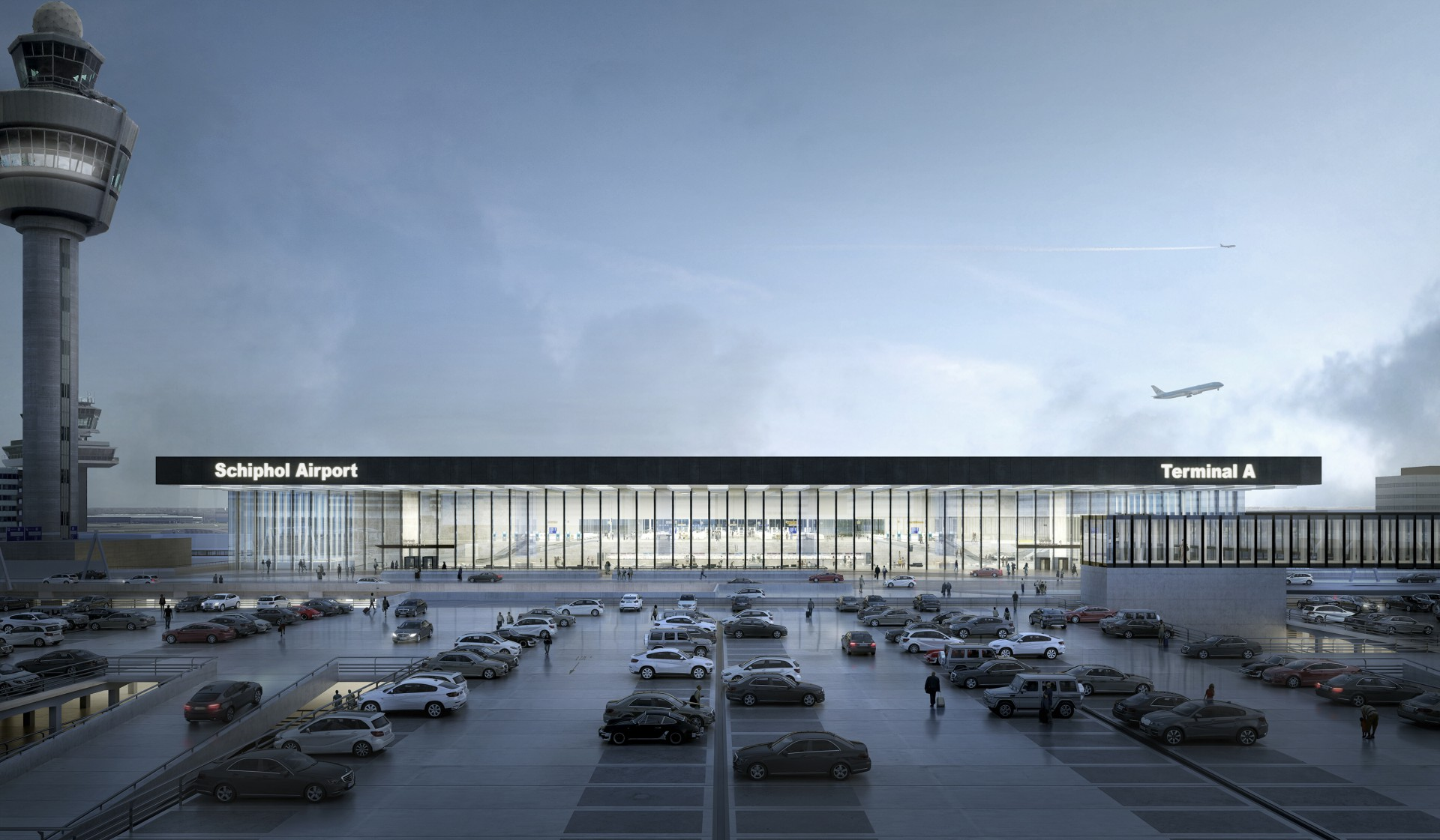Schiphol airport expansion entrusted to Aecom 33